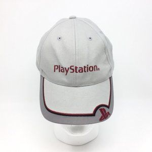 Sony PlayStation Gray Men's Embroidered Cap VHTF